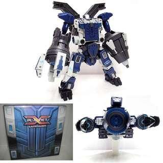 Transformers Planet X - PX-01B Gammadim Omega Sentinel / Genesis Omega Supreme Blue Version (MISB)