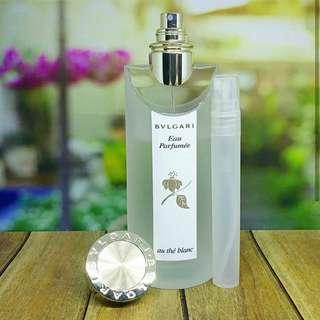 Decant Parfum Bvlgari Eau Parfumee Au The Blanc For Women 10ml
