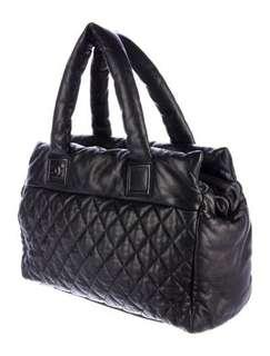 Chanel Cocoon Quilted Leather Large Tote Bag