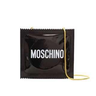 Moschino [TV] H&M Patent Shoulder Bag