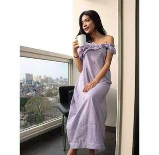 One Shoulder Pajamas Dress
