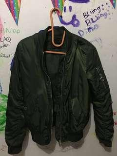 BERSHKA GIRL BOMBER JACKET