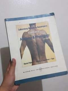 Essentials of Anatomy and Physiology 6th edition Lab Manual