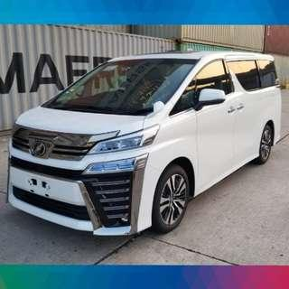 TOYOTA VELLFIRE 2.5 ZG 2018 現貨全新車 白色/黑籠