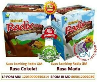 Radix GM Rasa Coklat & Madu by Nasa untuk kesehatan