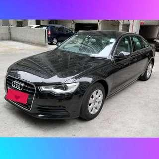 AUDI A6 2.8 FSI 黑色/灰籠