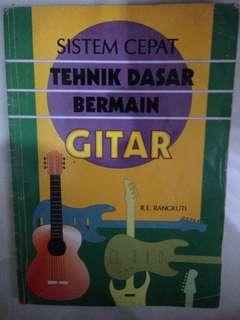 Buku Tehnik Dasar Bermain Gitar