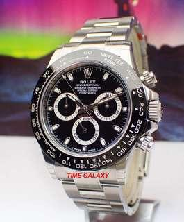 Brand new ROLEX Oyster Perpetual Cosmograph Daytona 40mm. Ref: 116500LN