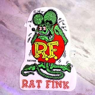 「Ratfink Rat Fink 老鼠 芬克 踏墊 地毯 60x90cm @公雞漢堡」