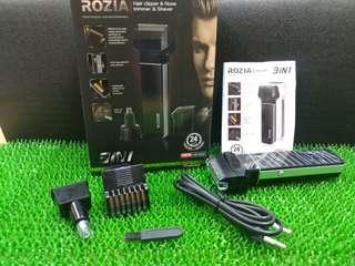 Hair Clipper, Nose Trimmer and Shaver