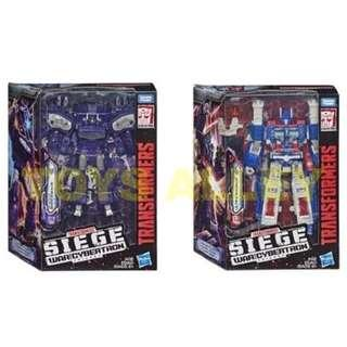 [Preorder] Transformers Siege War for Cybertron Trilogy Series Leader Class Wave 1 Shockwave & Ultra Magnus