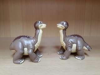 Bandai Dinosaur set