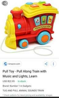 Tug and Pull Train
