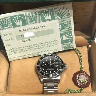 [FULL SET] Rolex Submariner 16610