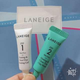 Laneige Trial Kit mini pore #SINGLES1111
