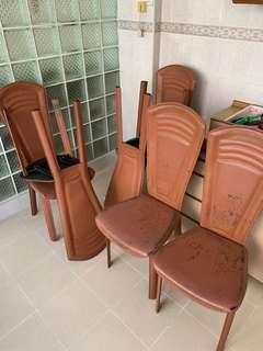 Dining chair (6 chairs)