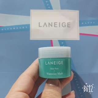 Laneige mini pore waterclay mask #SINGLES1111