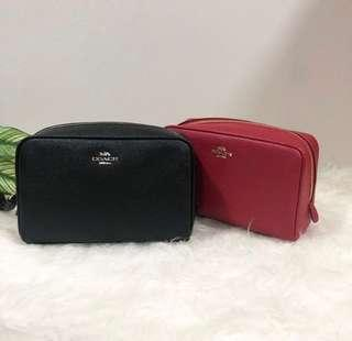 Authentic COACH Cosmetic Case #SINGLES1111