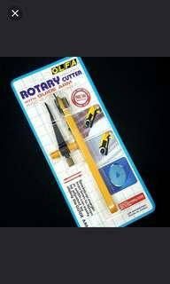 OLFA Rotary Cutter With Guide Arm / AVEC Guide Adjustable Made in Japan Price: $6.00 /pc  Offer Now