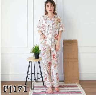 NEW !Flower Red PJ fit S-L(small)