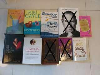 *Clearing* Various titles books part 2