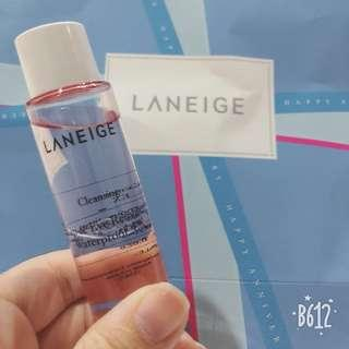 Laneige lip and eye remover waterproof #SINGLES1111