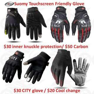 new arrival Suomy Touchscreen Friendly Glove