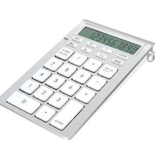 -1453- Cateck Bluetooth Wireless Numeric Smart Keypad with Calculator for iMac, MacBooks, PCs and Latops
