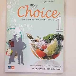 Secondary 1 Home Economics Textbook
