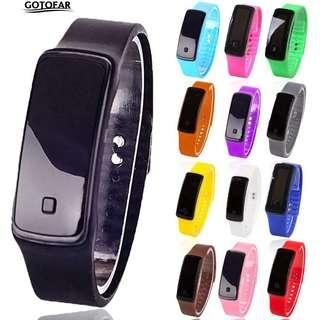 🔴2 for $5🔴LED Silicon Watch