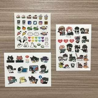 🚚 防彈少年團 BTS 國旻 貼紙
