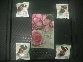 4 buah plum optrimax bwl + 1 nature republic mask sheet