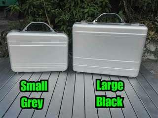 Pure aluminum attache case  small and Large for office laptop , gadgets