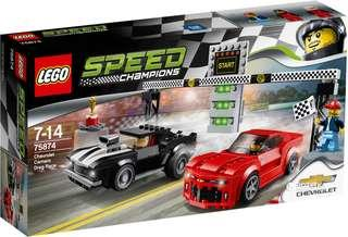 LEGO Speed Champions 75874: Chevrolet Camaro Drag Race