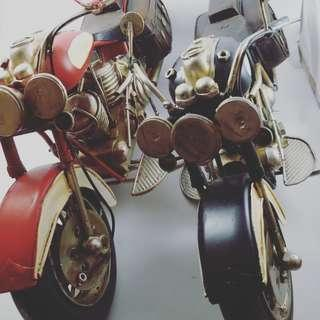 Vintage Metal Motorcycle Craft