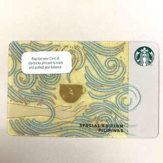 Starbucks Card Special Edition Pilipinas