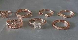 Pandora Rings Rosegold