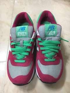 New balance 574 連盒