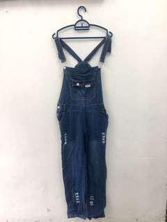Denim Overall Jeans