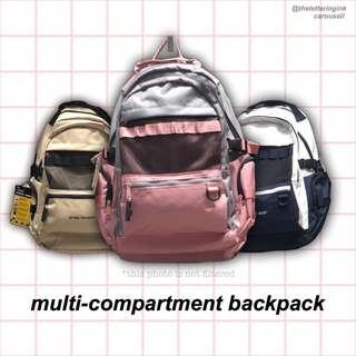 multi-compartment bag
