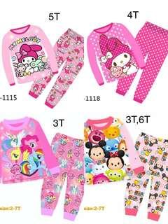 Kids Pyjamas - girls designs