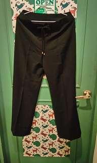 🚚 GUCCI 直筒西裝褲 藍黑 42