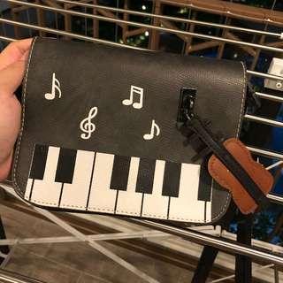 Music Theme Sling Bag