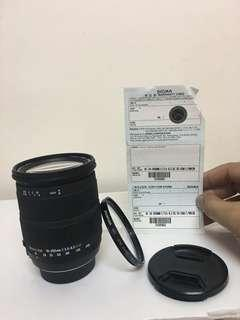 18-200mm sigma for Nikon excellent condition!!!