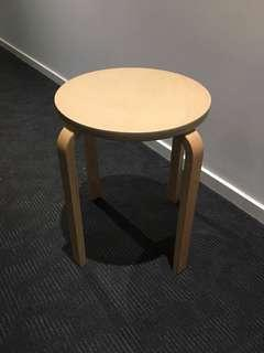 2 ikea stools