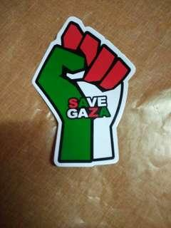 Sticker Save Gaza