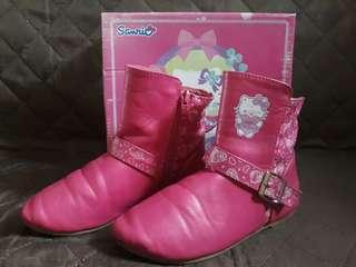 Preloved Hello Kitty Boots