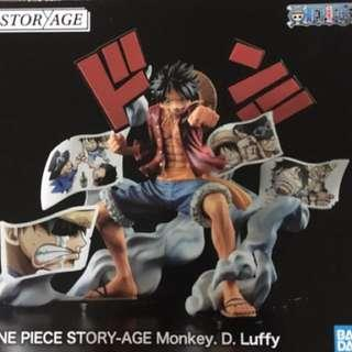 Banpresto One Piece Storyage Story-Age Monkey D Luffy