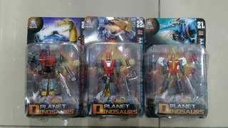 Transformers Dinobots third-party