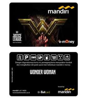 Mandiri E-Money JUSTICE LEAGUE - WONDER WOMAN